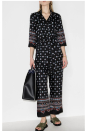 ERDEM TWILL PRINTED JUMPSUIT - Front cropped