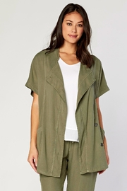 XCVI Twill Vest Coat - Product Mini Image