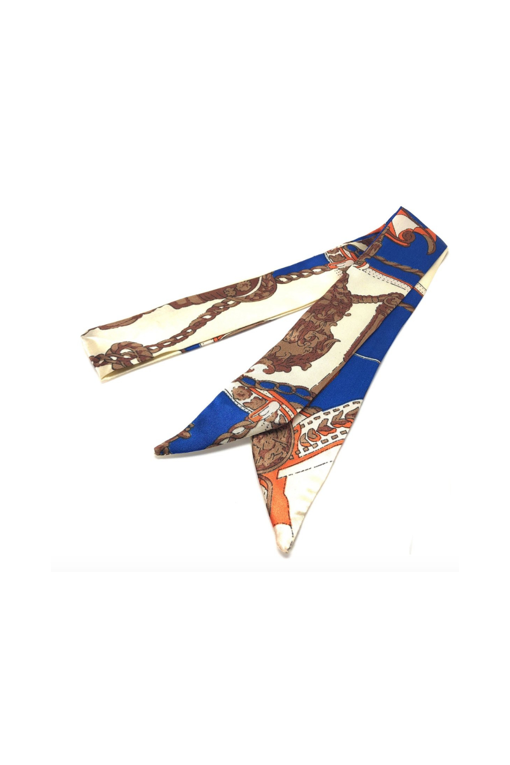 Cthrupurses Twilly Scarf Tie - Front Cropped Image