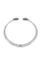 Brighton  Twinkle Open Hinged Bangle - Front full body
