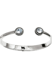 Brighton  Twinkle Open Hinged Bangle - Front cropped