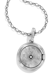 Brighton Twinkle Small-Round Locket-Necklace - Side cropped