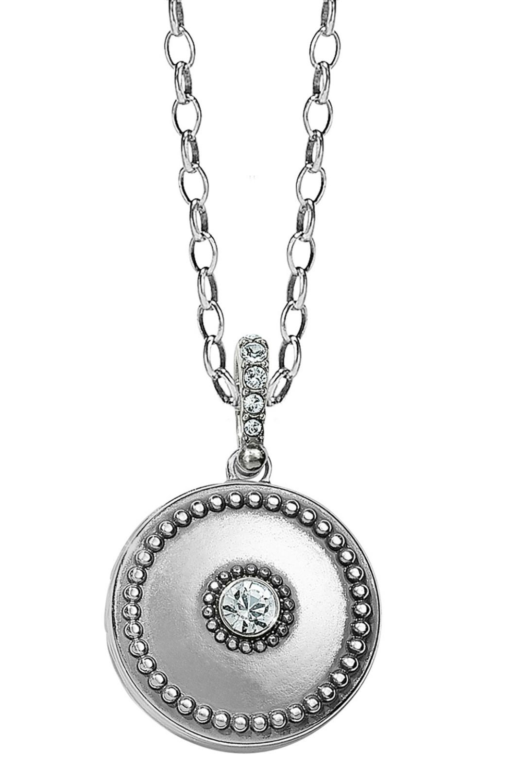 Brighton Twinkle Small-Round Locket-Necklace - Main Image