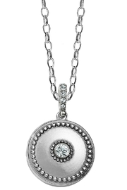 Brighton Twinkle Small-Round Locket-Necklace - Front cropped