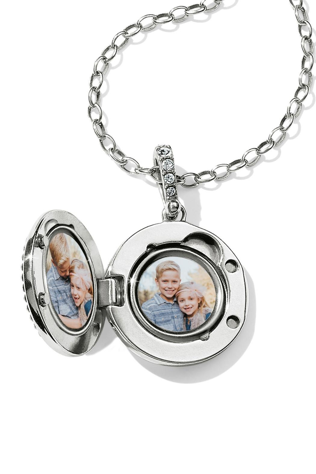 Brighton Twinkle Small-Round Locket-Necklace - Front Full Image