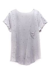 AS by DF TWINKLE STUDDED TEE - Front full body