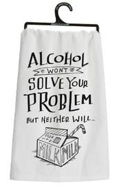 Twist Alcohol Solution Towel - Front cropped