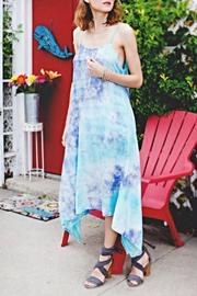 Twist Aqua Dream Midi Dress - Product Mini Image