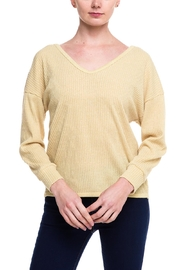 Style Rack Twist Back Sweater - Front cropped