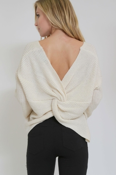 1 Funky Twist Back Sweater - Product List Image