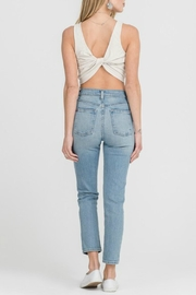 Lush Clothing  Twist Back Tank - Front cropped