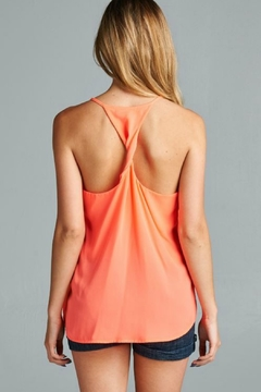 Caramela Twist Back Tank - Alternate List Image