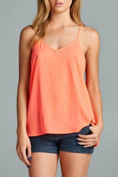 Caramela Twist Back Tank - Product List Image