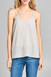 Caramela Twist Back Tank - Product Mini Image