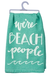 Twist Beach People Towel - Product Mini Image