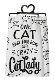 Twist Cat Lady Towel - Product Mini Image