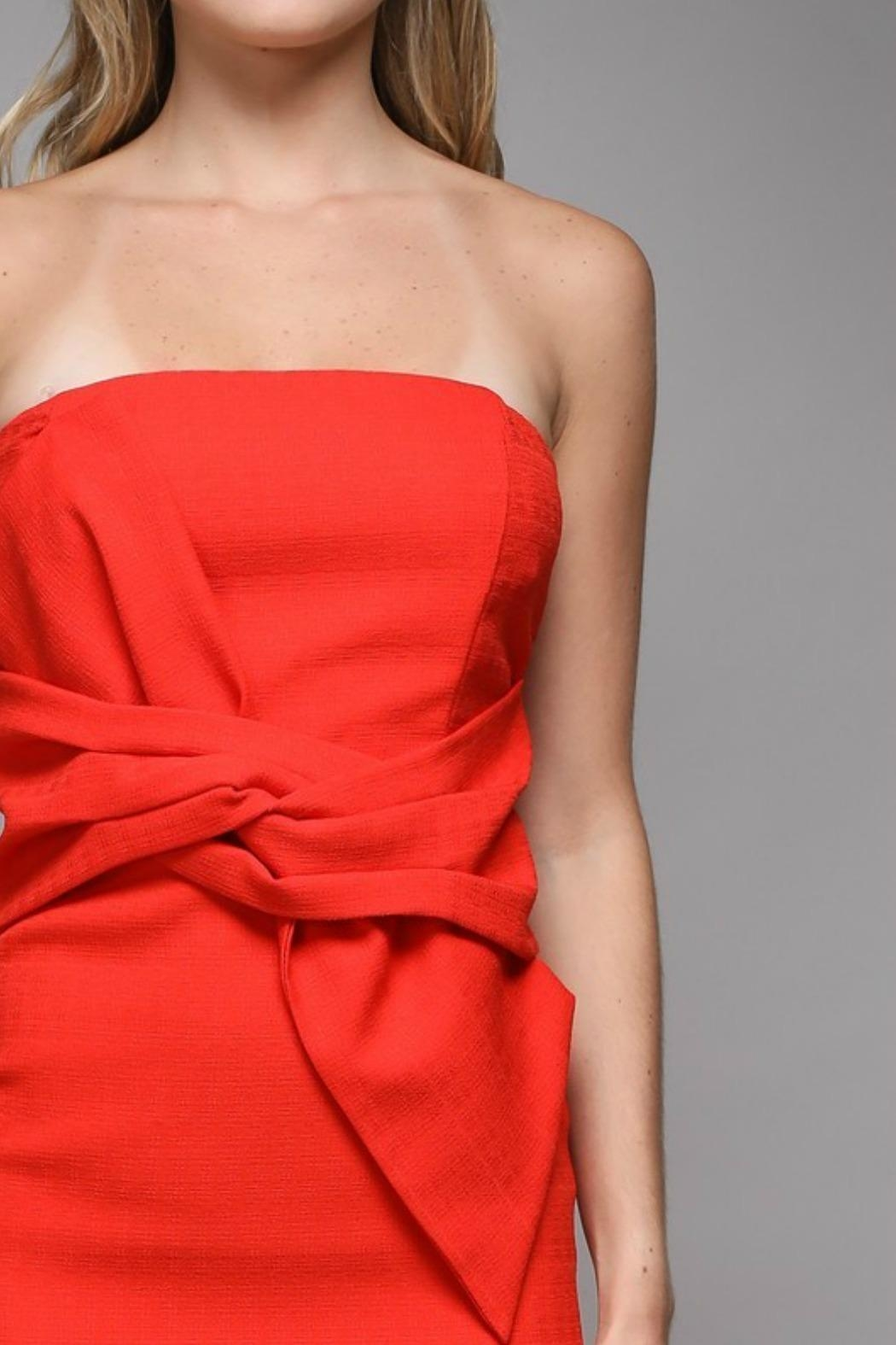 Do & Be Twist Detail Dress - Side Cropped Image