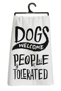Shoptiques Product: Dogs Welcome Towel