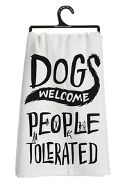 Twist Dogs Welcome Towel - Product Mini Image