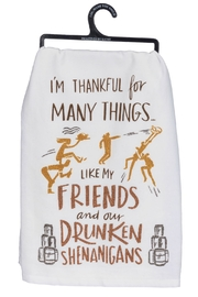 Twist Drunken Shenanigans Towel - Product Mini Image