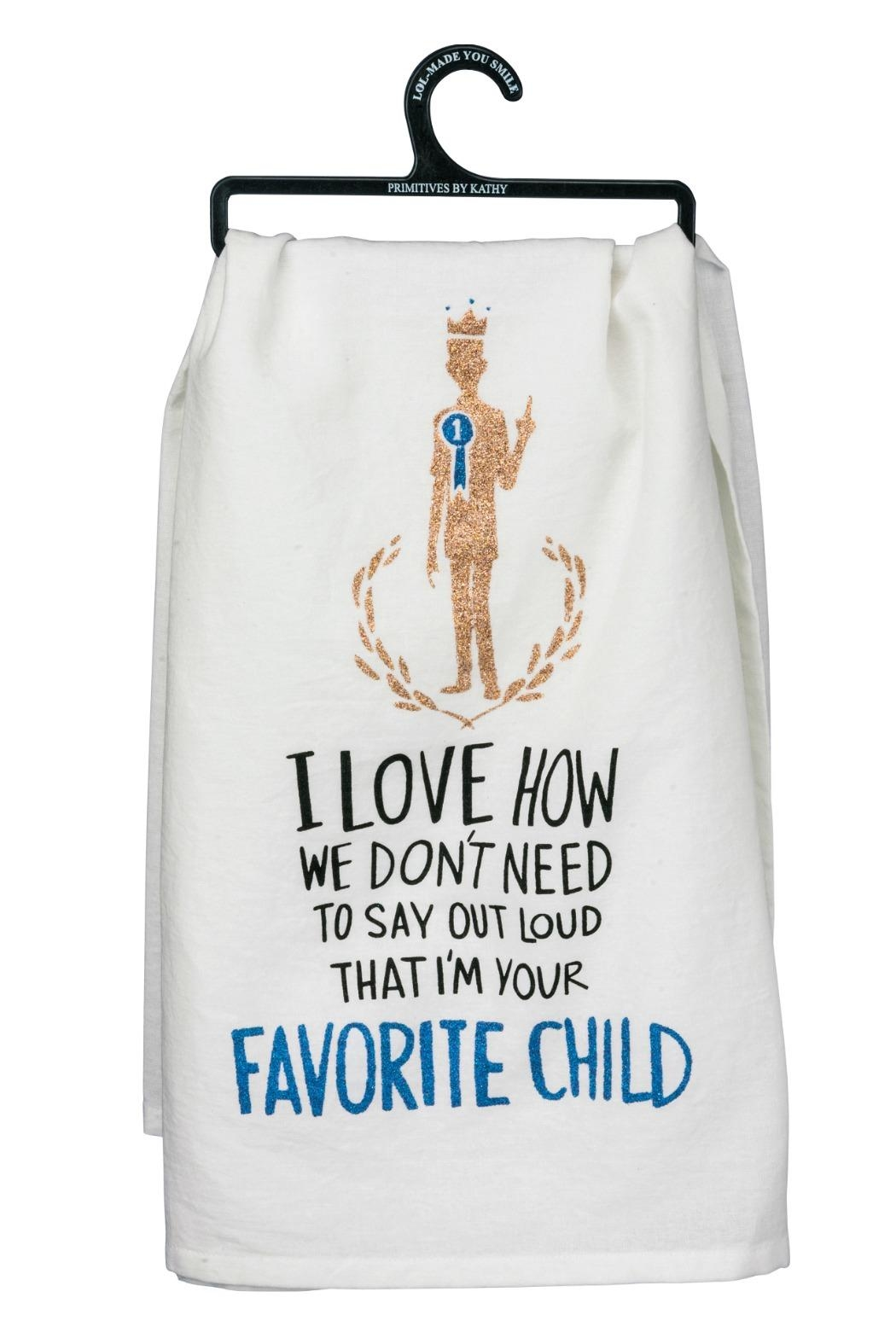 Twist Favorite Child Towel - Front Cropped Image