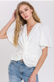 Endless Rose Twist Front Blouse - Product Mini Image