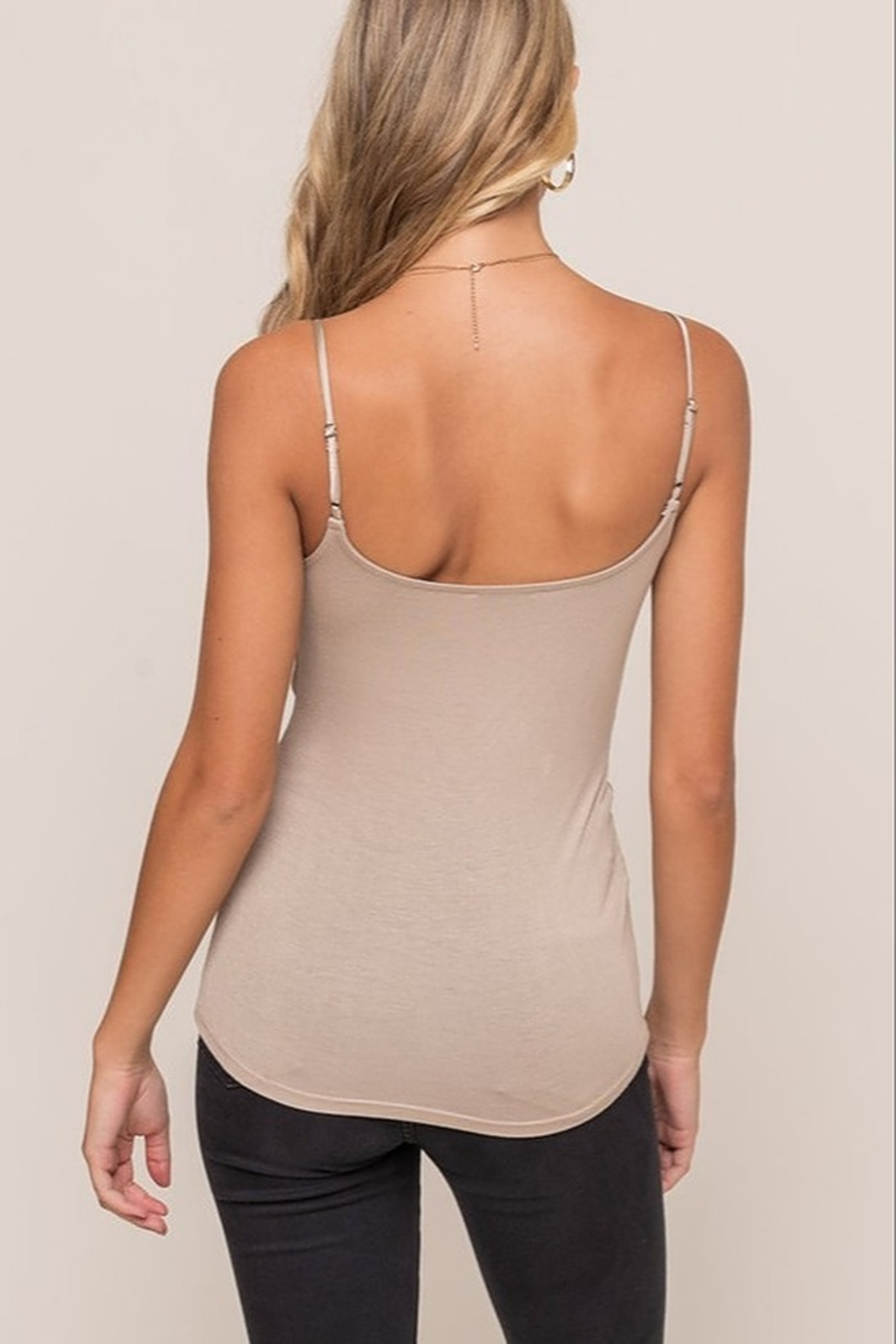 Lush  Twist Front Cami - Front Full Image