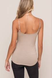 Lush  Twist Front Cami - Front full body
