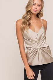 Lush  Twist Front Cami - Front cropped