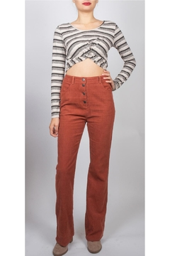 Illa Illa Twist Front Crop-Top - Product List Image