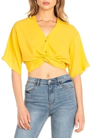 Dance and Marvel Twist Front Crop Top - Product Mini Image