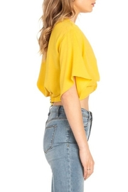 Dance and Marvel Twist Front Crop Top - Front full body