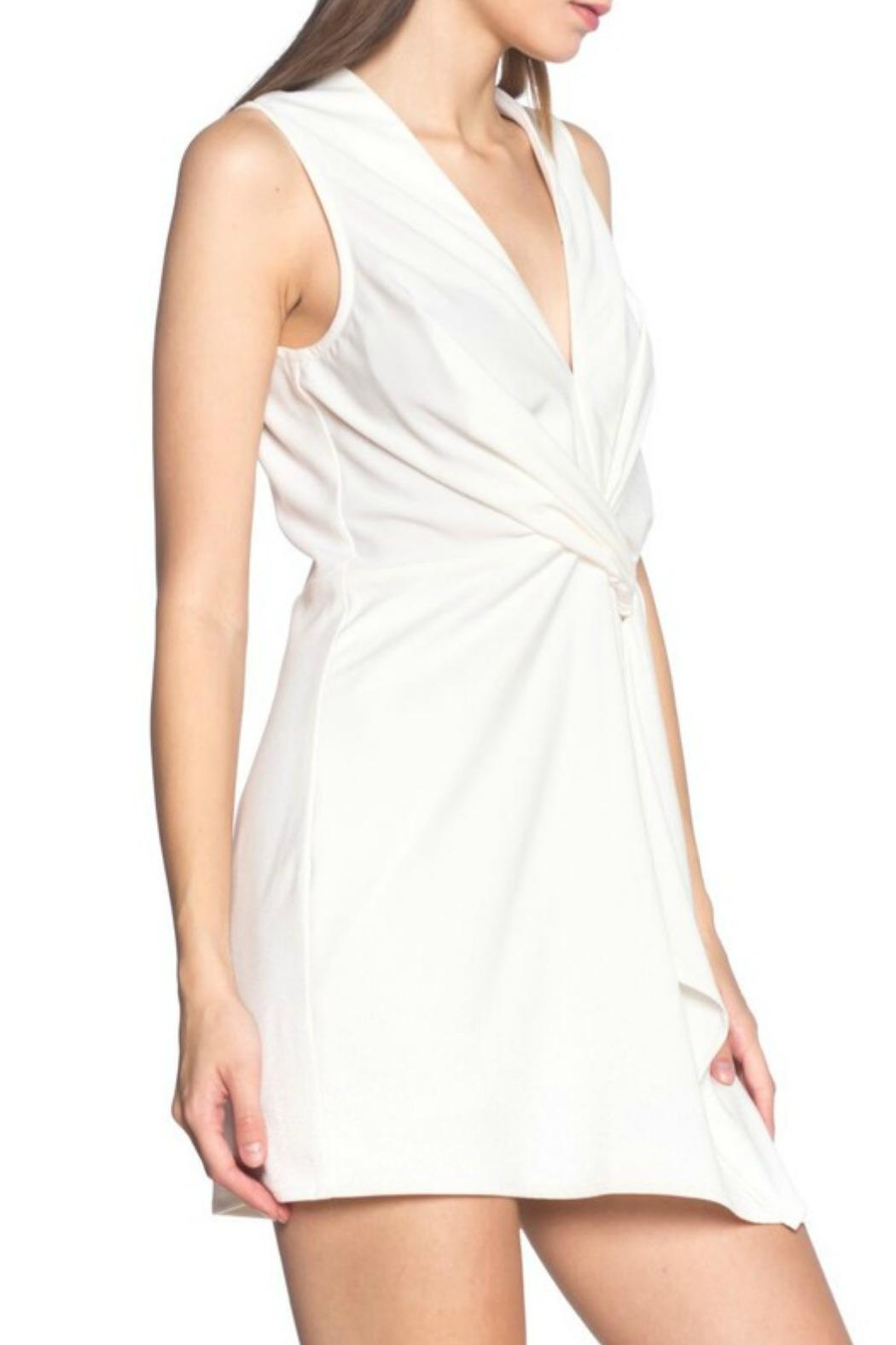 Alythea Twist Front Dress - Front Full Image