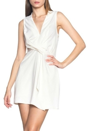 Alythea Twist Front Dress - Front cropped