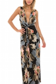 Ariella Twist Front Maxi - Front cropped