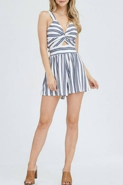 Maronie  Twist-Front Romper - Product Mini Image