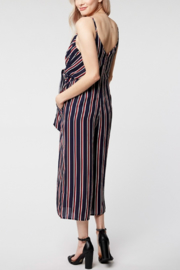 Everly Twist Front Stripe Jumper - Front full body