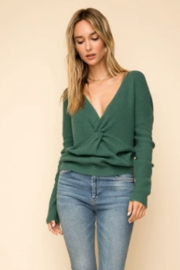 Hem & Thread Twist front sweater - Front cropped