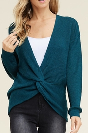 Staccato Twist-Front Sweater - Product Mini Image