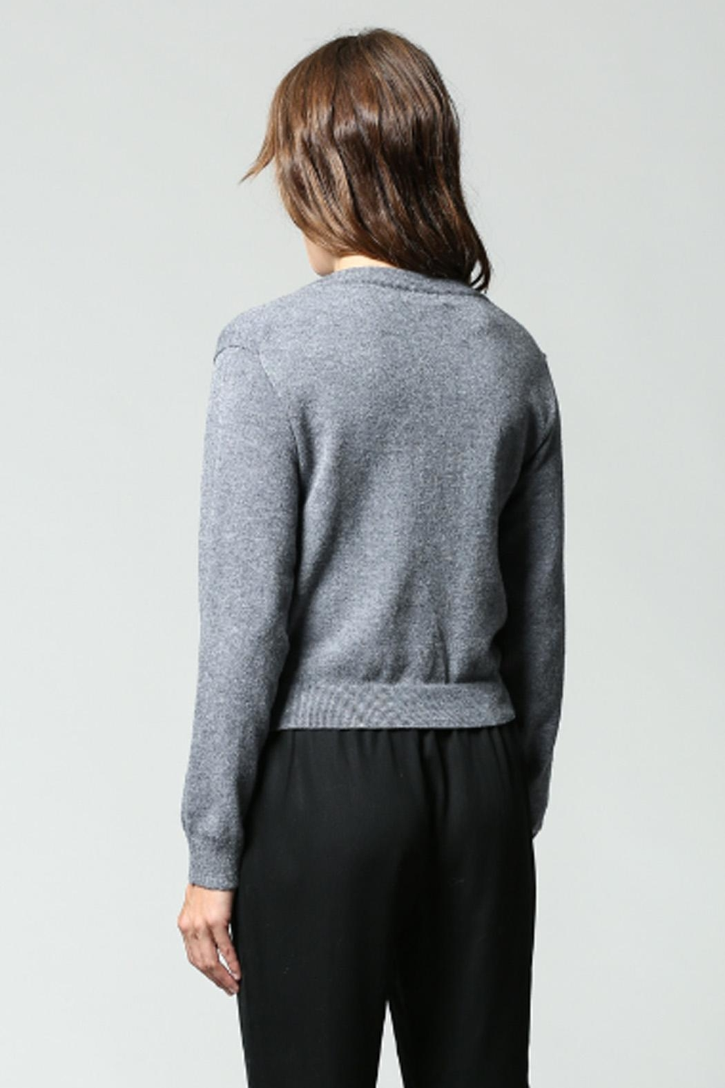 Fate Twist Front Sweater - Side Cropped Image
