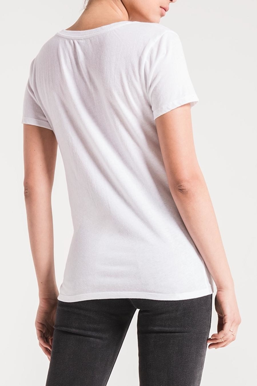 z supply Twist Front Tee - Front Full Image