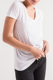 z supply Twist Front Tee - Back cropped