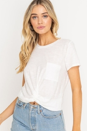 Lush Twist Front Tee - Product Mini Image