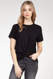 Dex Clothing Twist Front Tee - Product Mini Image