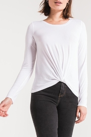 z supply Twist Front Tee - Side cropped