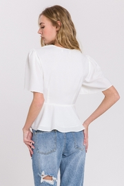 Endless Rose Twist Front Top - Side cropped