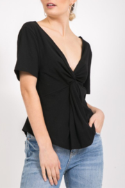 Very J Twist Front Top - Product Mini Image