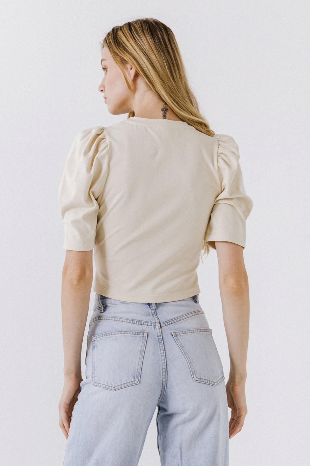 Endless Rose Twist Front Top - Side Cropped Image