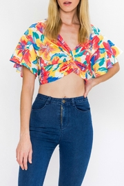 Flying Tomato Twist Front Top - Product Mini Image