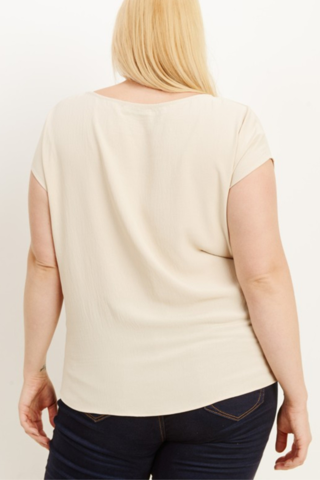 Gilli Twist Front Top Curvy - Front Full Image